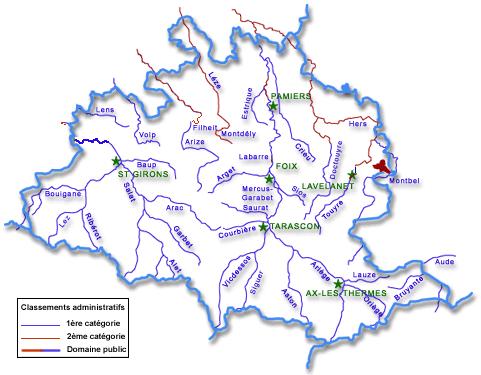 Les plans d'eau de l'ariege