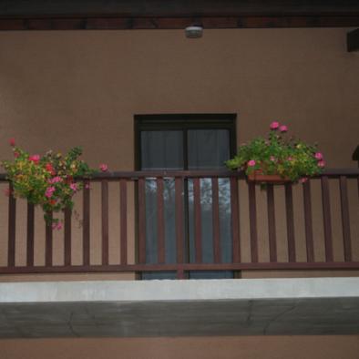 Chambre avec terrasse de l'hôtel des 4 Saisons
